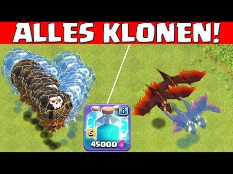 MAXED KLON! - ALLES KLONEN! || CLASH OF CLANS || Let's Play CoC [Deutsch German HD]