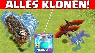 MAXED KLON! - ALLES KLONEN! || CLASH OF CLANS || Let