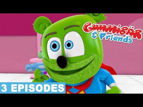 Gummy Bear Show LETS PLAY PRETEND Gummibar and Friends Gummy Bear Song