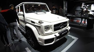 Amg G63 mercedes benz g class W463 exclusive edition !  walkaround + interior