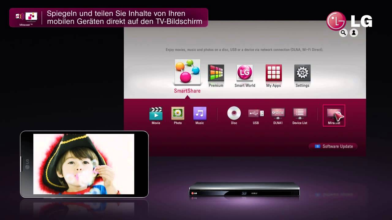 Lg smart 3d blu ray player bp730 youtube lg smart 3d blu ray player bp730 sciox Image collections