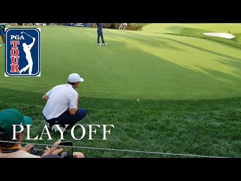Dustin Johnson, Jordan Spieth Playoff | Round 4 | THE NORTHERN TRUST