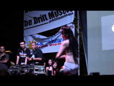 Repsol Babe AJ Suller aka Ligaya performing Gimme Gimme on Bumper 2 Bumper IX Carshow
