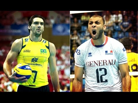 Giba v Ngapeth | Great Receive | TOW KING