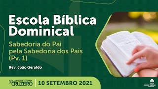 EBD da IPB Cruzeiro dia 10/10/2021