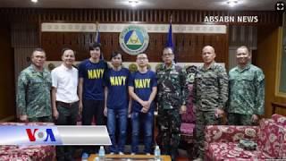 Philippines giao 3 thuyền viên bị bắt cóc cho Việt Nam