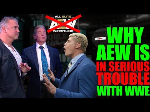 Real Reason Why AEW Are In SERIOUS Trouble With WWE REVEALED! Vince McMahon To SUE AEW LEAKED?!