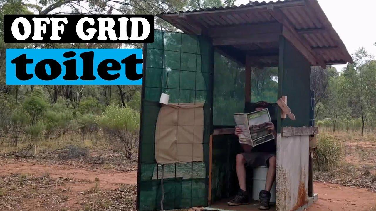 my off grid toilet long drop youtube. Black Bedroom Furniture Sets. Home Design Ideas