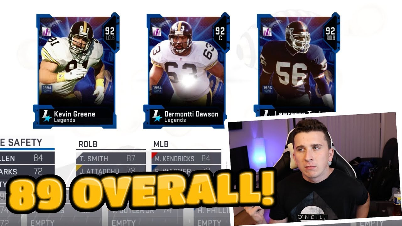 The Highest Overall DEFENSE That Is Possible! Madden 19 Draft