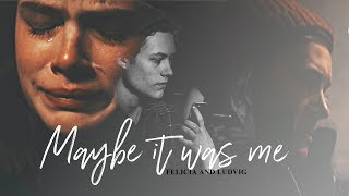 felicia and ludvig | you've taken a piece of me. [1x08]