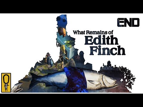 EDITH FINCH ENDING Ep. 6 - Let's Play What Remains of Edith Finch Gameplay