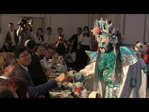 Face Changing Show (Sichuan Tourism Promotion Event in Madrid)