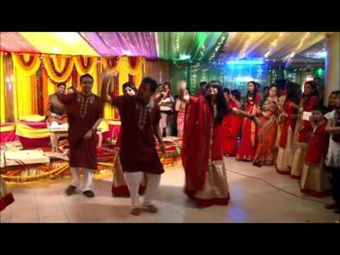 ||tenu leke|| dance performance on zabir and tasmeer's holud