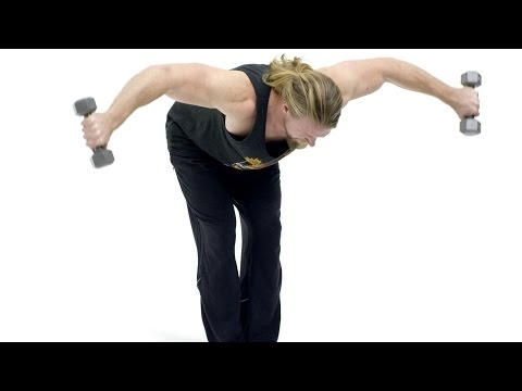 How To Perform Bent Over Reverse Flys Exercise Tutorial
