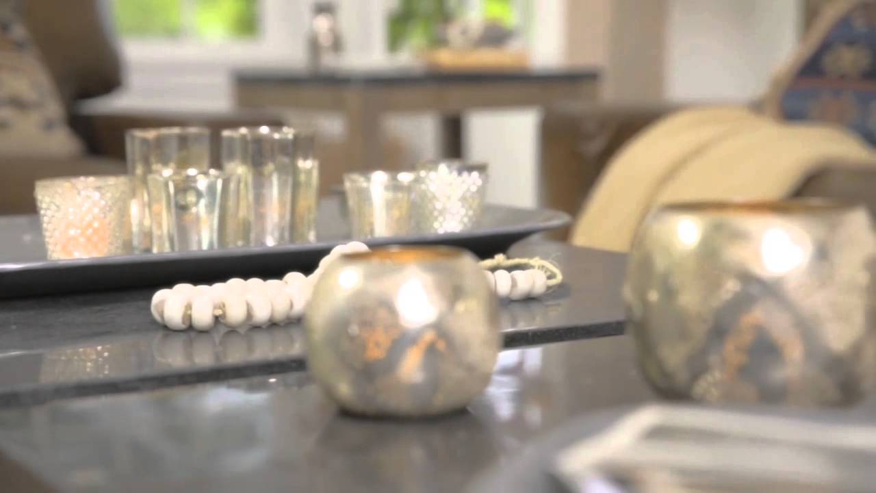 Easy coffee table decor ideas pottery barn youtube geotapseo Gallery