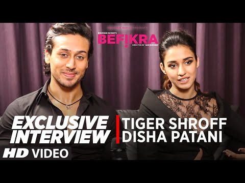 Exclusive Interview With Tiger Shroff, Disha Patani | Befikra | T-Series