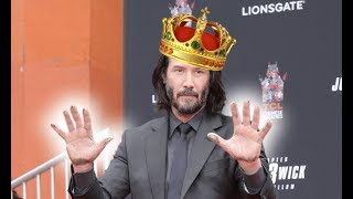 THERE ARE NO WORDS TO DESCRIBE THE NEW KEANU REEVES AGENDA....