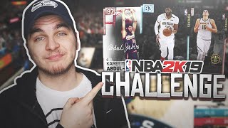 RIDICULOUS BIG-MAN ONLY CHALLENGE! NBA 2K19 MyTeam Squad Builder thumbnail