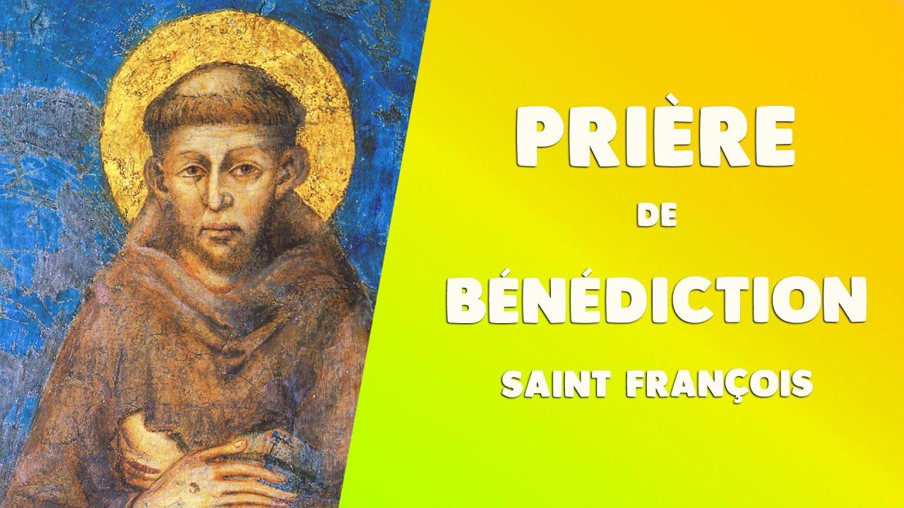 PRIÈRE du MATIN, la BÉNÉDICTION de SAINT FRANÇOIS d'Assise