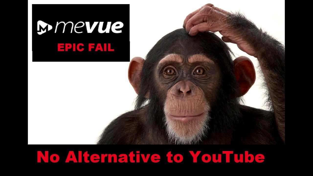 mevue.com  SUCKS -  NO ALTERNATIVE TO YOUTUBE