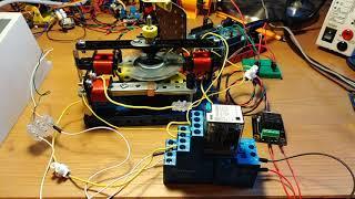 Démarrage moteur synchrone par moteur asynchrone