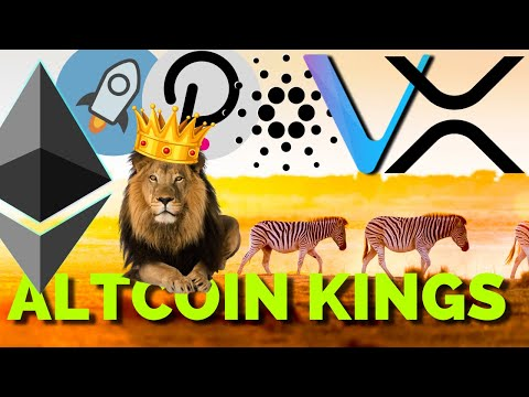 altcoin-royalty:-xrp,-stellar-xlm,-cardano-ada,-vechain-vet,-ethereum-eth,-polkadot-dot