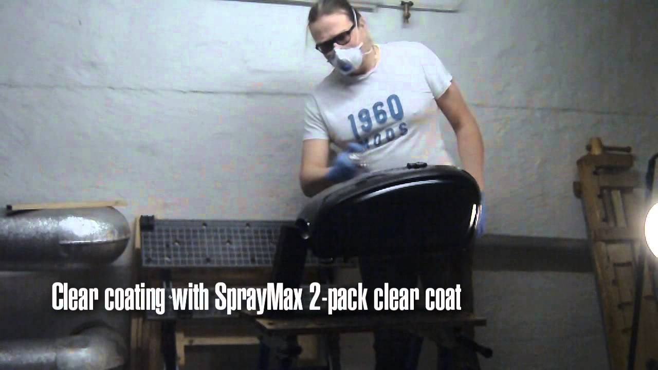 wet sanding sags and clear coating with spraymax 2 pack. Black Bedroom Furniture Sets. Home Design Ideas