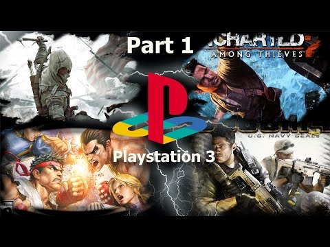 TOP PS3 GAMES (PART 1) OVER 700 GAMES!!