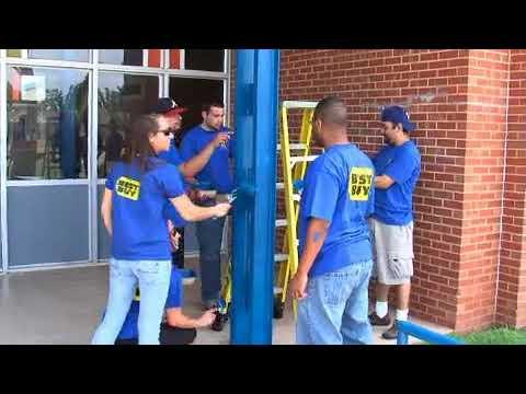 Best Buy paints middle school (2008-06-25)