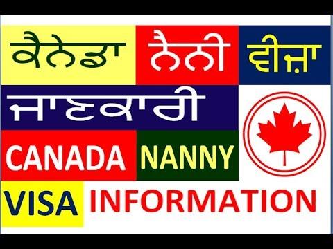 Big Update  Canada  Nanny Visa Information 7889272673