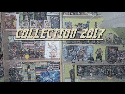 MA COLLECTION MANGA/FIGURINES (2017)