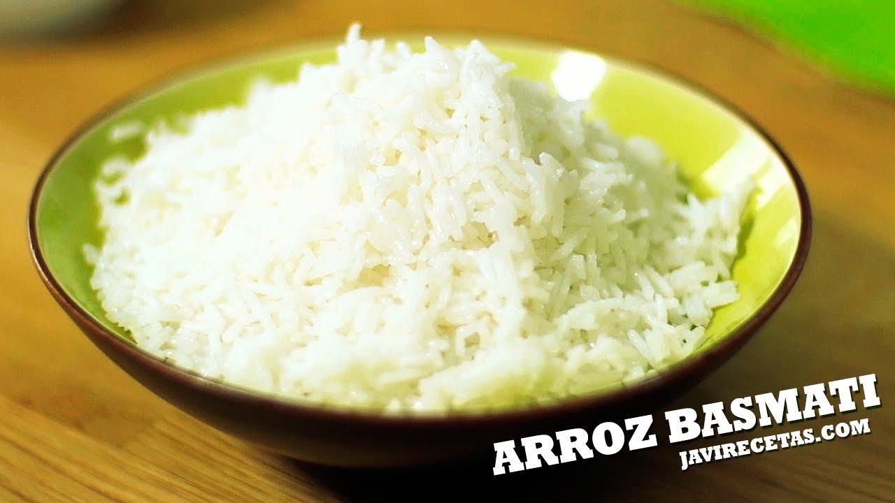 tiempo cocción arroz blanco