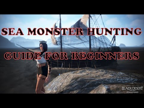 Sea Monster Hunting guide for beginners