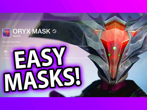 HOW TO FARM MASKS! Destiny Halloween Update - YouTube