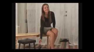 Repeat youtube video Christina Model Black Dress
