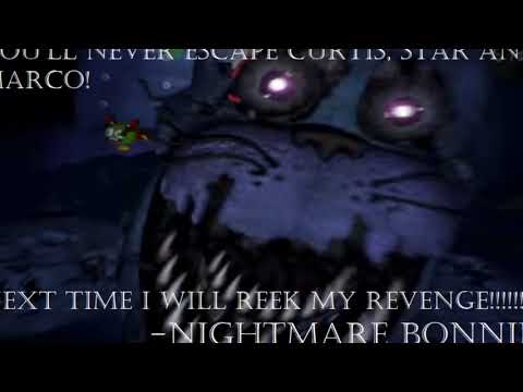 Nightmare Bonnie wants Revenge on Curtis, Star & Marco