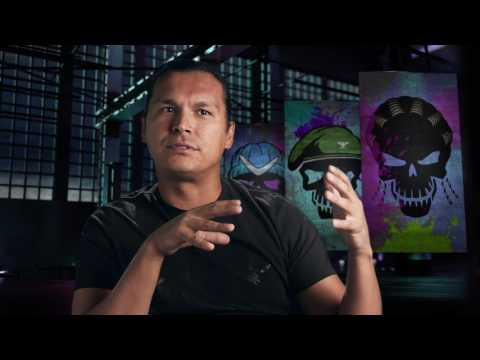 "Suicide Squad: Adam Beach ""Slipknot"" Behind the Scenes Movie Interview"