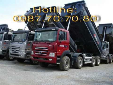 Hyundai Ben HD270 15 Tn Thng 15 Khi, Thng 10 Khi, Hyundai HD370 Ben 25 Tn Thng 20 Khi