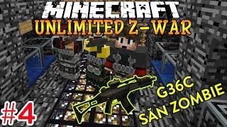Oops Club Minecraft Unlimited Z-War Map - Tập 4: CẦM SÚNG G36C ĐI SĂN ZOMBIE