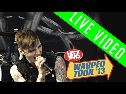 "Black Veil Brides: ""Shadows Die"" Live [Vans Warped Tour 2013]"