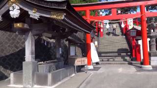 日本五大稲荷神社のひとつ 津和野 太鼓谷稲成神社 Taikodani inari shrine