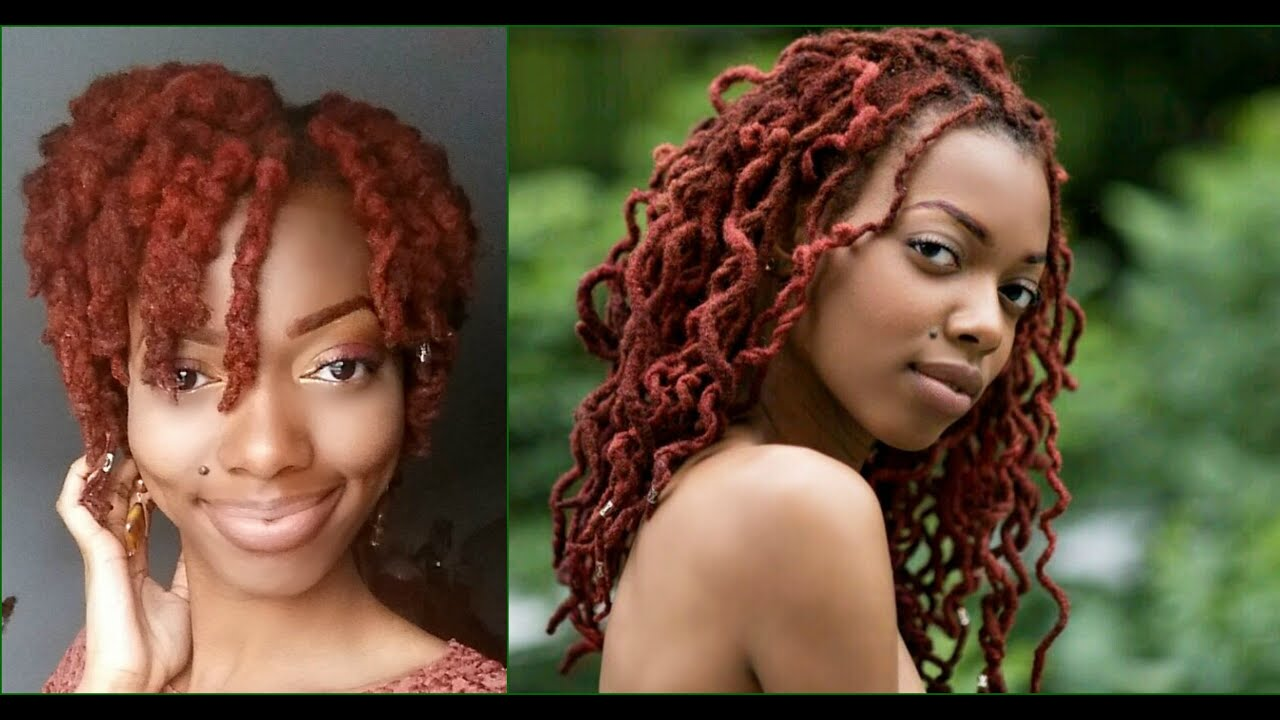 Loc Knot Out Faux Pixie Cut Out Loc Curls Youtube