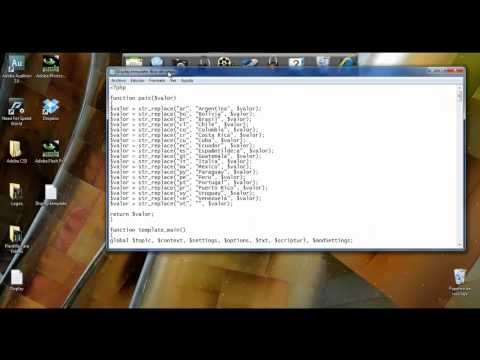 Spirate; Mod codigo PHP