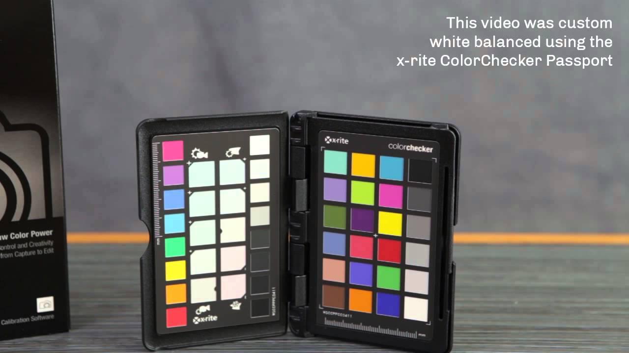 x-rite ColorChecker Passport Demo: Custom WB - YouTube