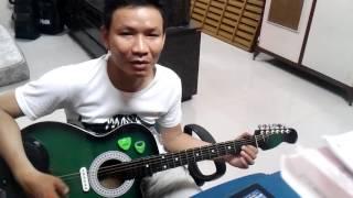Cách đàn tân nhạc bằng guitar phím lõm - phần 1