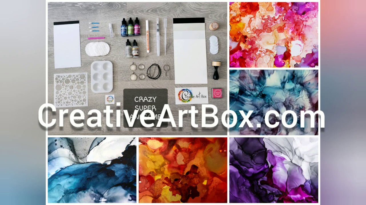 "Creative Art Box Unboxing ""You Made Me Ink"" box"
