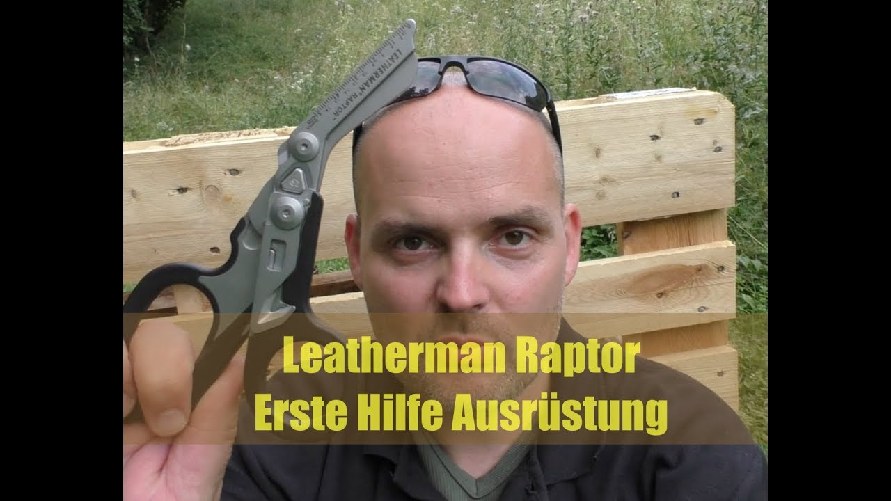 leatherman raptor erste hilfe ausr stung youtube. Black Bedroom Furniture Sets. Home Design Ideas