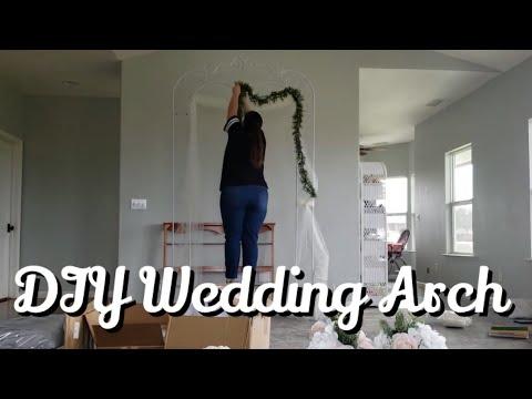 WEDDING ARCH DECOR || DIY WEDDING
