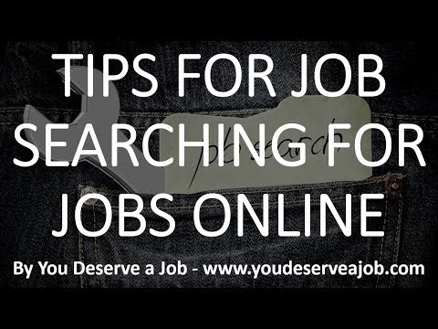 Tips for Job Searching for Retail Jobs Online