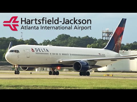 THE BUSIEST IN AMERICA: Planespotting in Atlanta Airport ATL